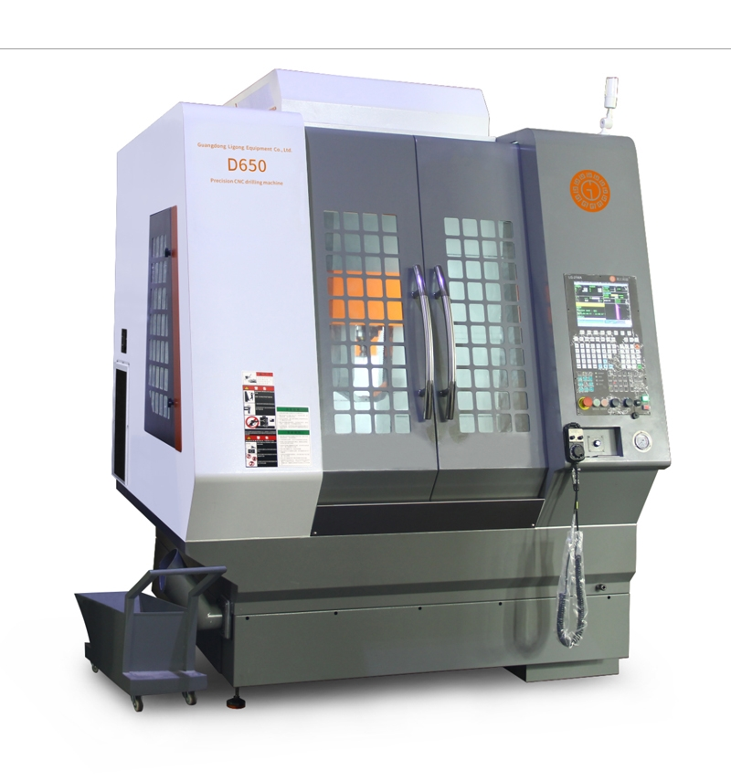 Double tool storehouse vertical deep hole drilling LG-D650